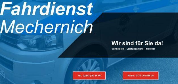 Fahrdienst Mechernich Rollstuhlfahrzeuge (BTW) Verlegungsfahrten: liegend – sitzend